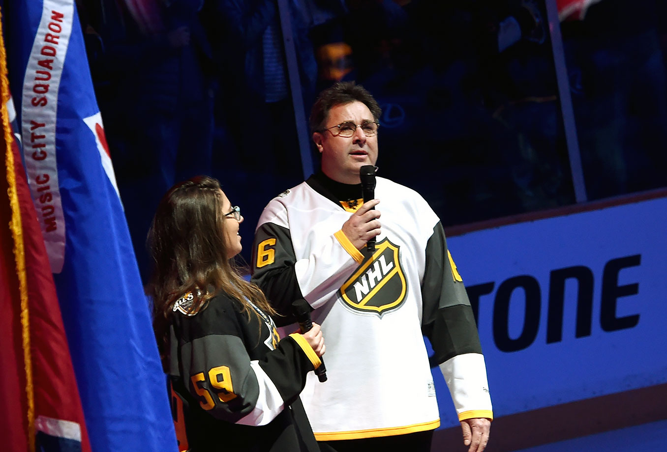 NHL All-Star Game on January 31, 2016 at Bridgestone Arena in Nashville.