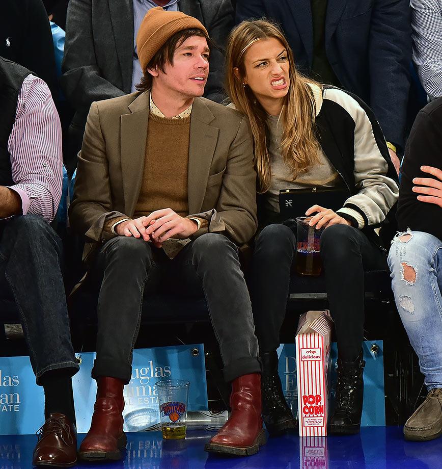 Feb. 2, 2016 — Knicks vs. Celtics at Madison Square Garden in New York City