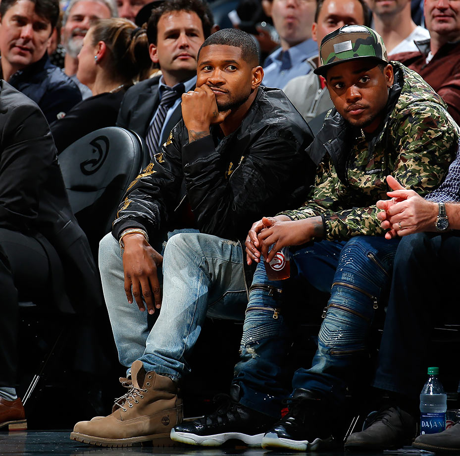 Feb. 22, 2016 — Hawks vs. Knicks at Philips Arena in Atlanta