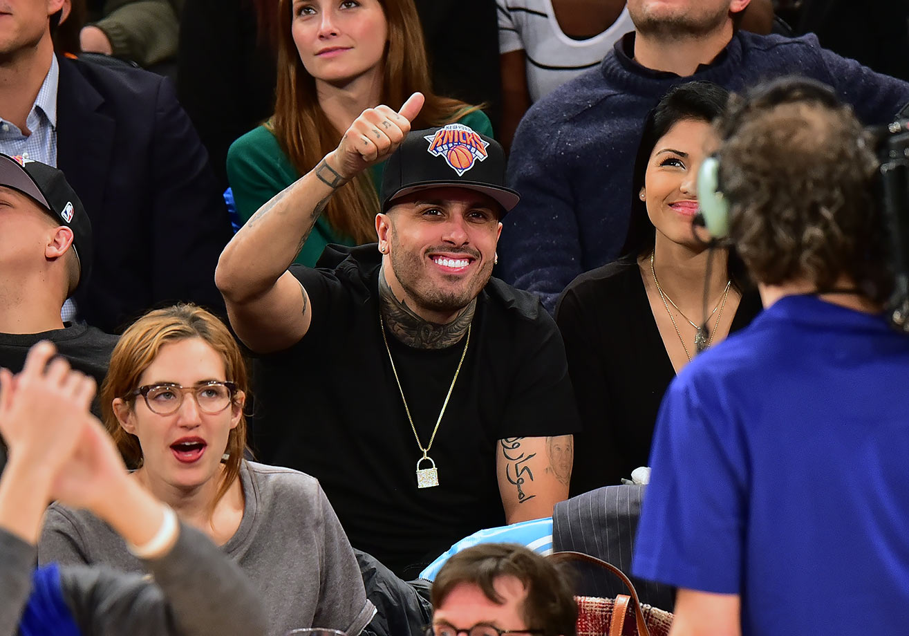 March 1, 2016 — Knicks vs. Trail Blazers at Madison Square Garden in New York City