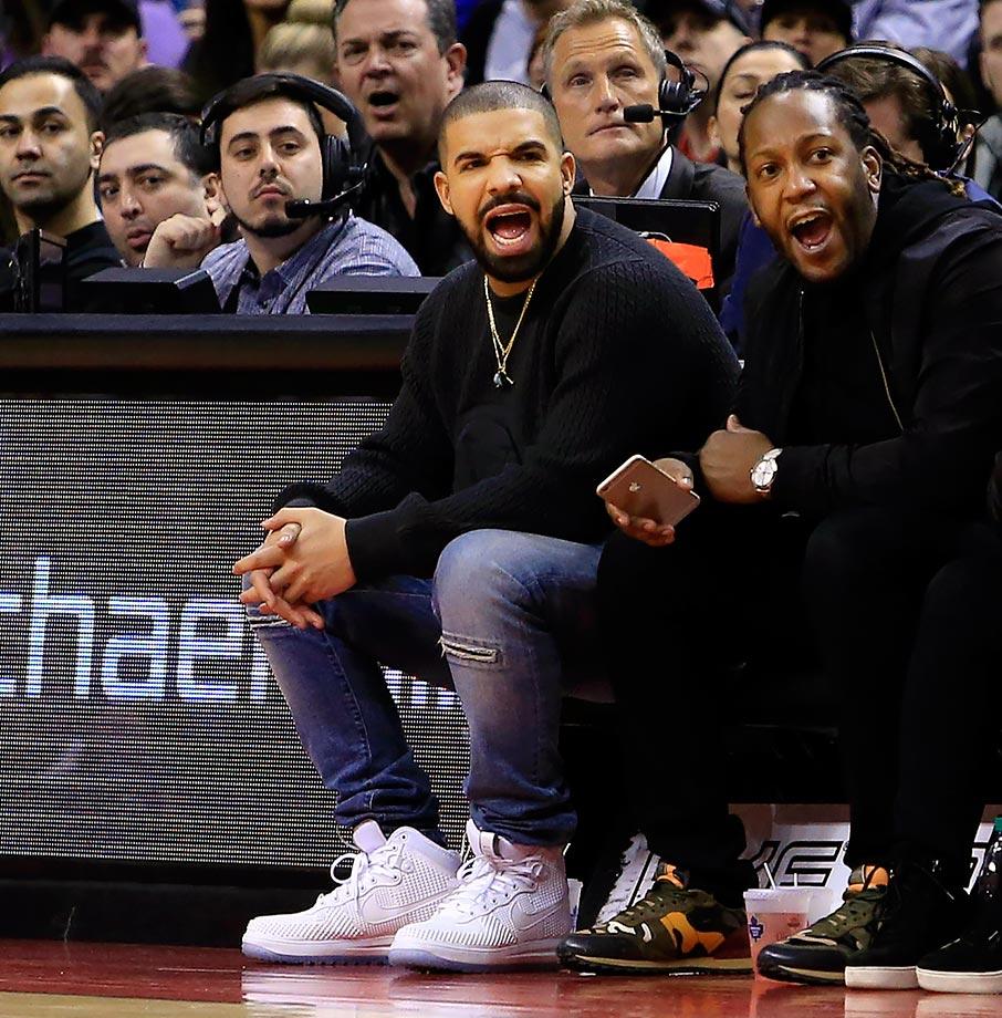Toronto Raptors vs. Miami Heat at Air Canada Centre in Toronto