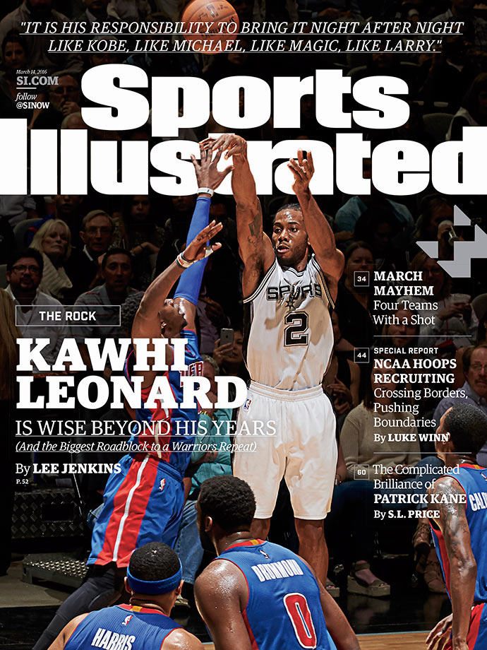 The Island of Kawhi — distant and accessible to only a few, the game's most dominant defender and underrated superstar desperately cultivates greatness, if not an image. He also is giving a second wind to the Spurs' dynasty, the best bet to unseat the Warriors.