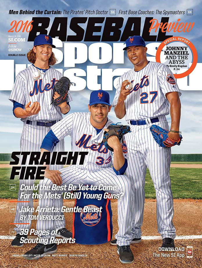 Matt Harvey, Jacob deGrom and Jeurys Familia of the New York Mets are SI's NL East winners.