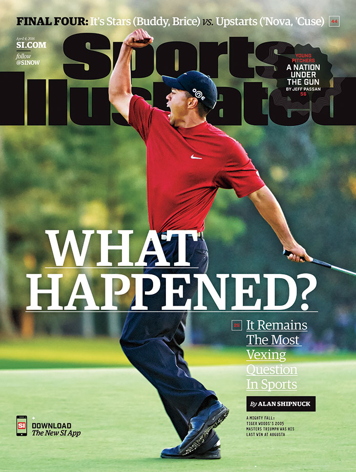Tiger Woods is featured on the national cover of Sports Illustrated ahead of the 2016 Masters. SI's Alan Shipuck looks back on Woods's career over the eight years since he last won a major title, and explains why the 40-year-old former star may never regain his dominance on the sport.