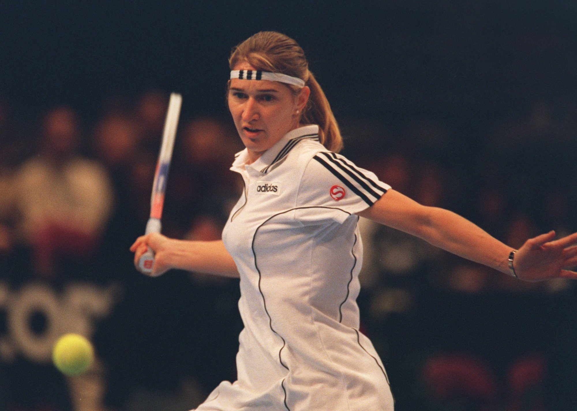 Steffi Graf beat Anke Huber in five-sets (yes, the final was best-of-five for a few years) to win her fourth title.