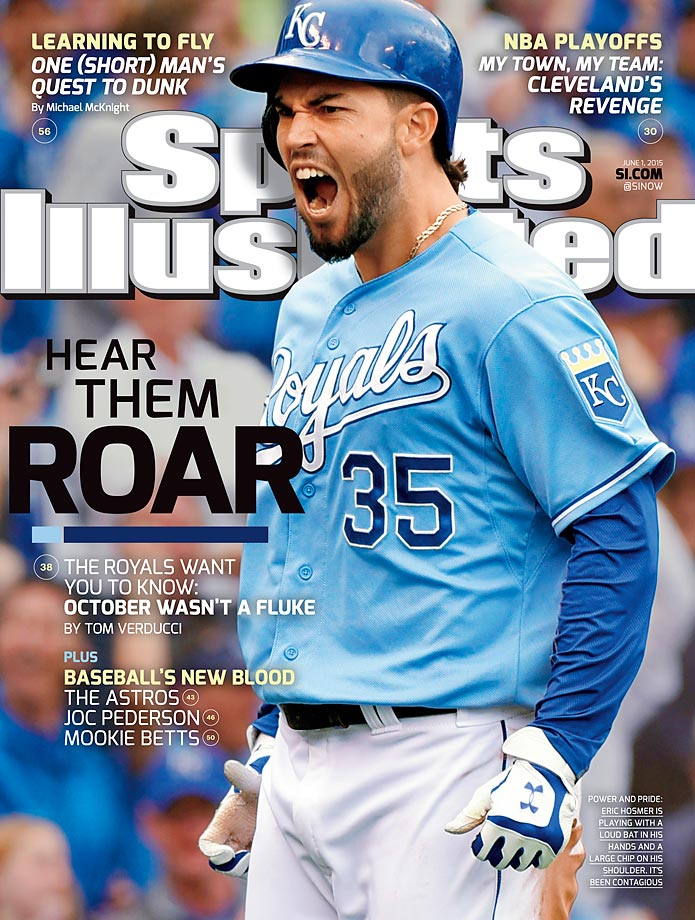 June 1, 2015 | The Kansas City Royals, led by first baseman Eric Hosmer, boasts baseball's best record and a rough playing style that infuriates opponents, but pleases everyone else.