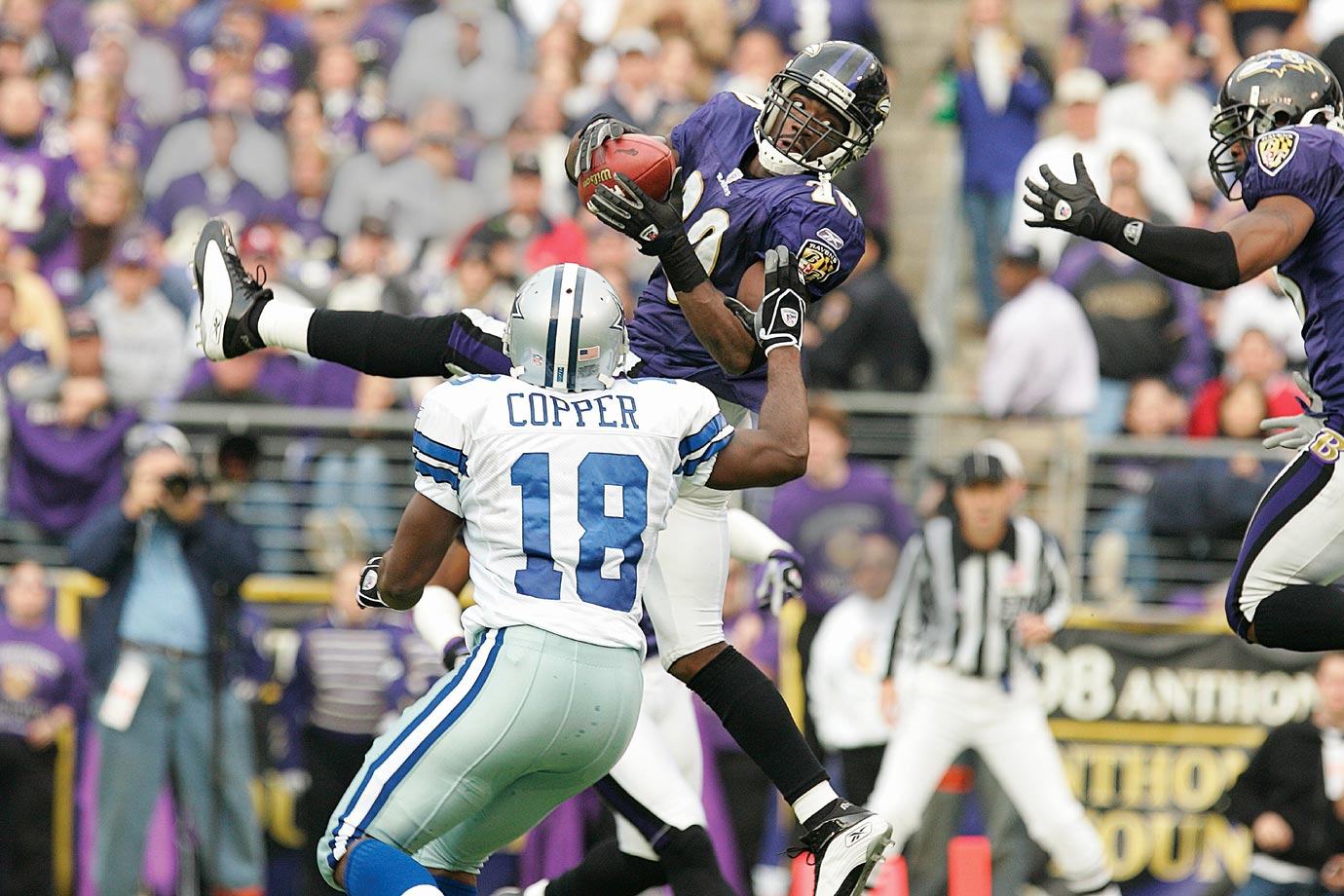 In his 11th (and, as it turned out, final) season in Baltimore, Reed claimed his first Super Bowl win. He has earned a spot as one of game's best safeties ever. His Credentials: Nine-time Pro Bowl selection, eight-time All-Pro, 2004 AP Defensive Player of the Year, holds NFL record for longest interception return (107 yards), named to NFL All-Decade Team for 2000s, has 61 career regular-season interceptions and seven touchdowns. Others in Consideration: Chris Johnson (2008, Titans); Aaron Rodgers (2005, Packers); Steven Jackson (2004, Rams); Dallas Clark (2003, Colts); Eric Moulds (1996, Bills); James Brooks (1981, Chargers)