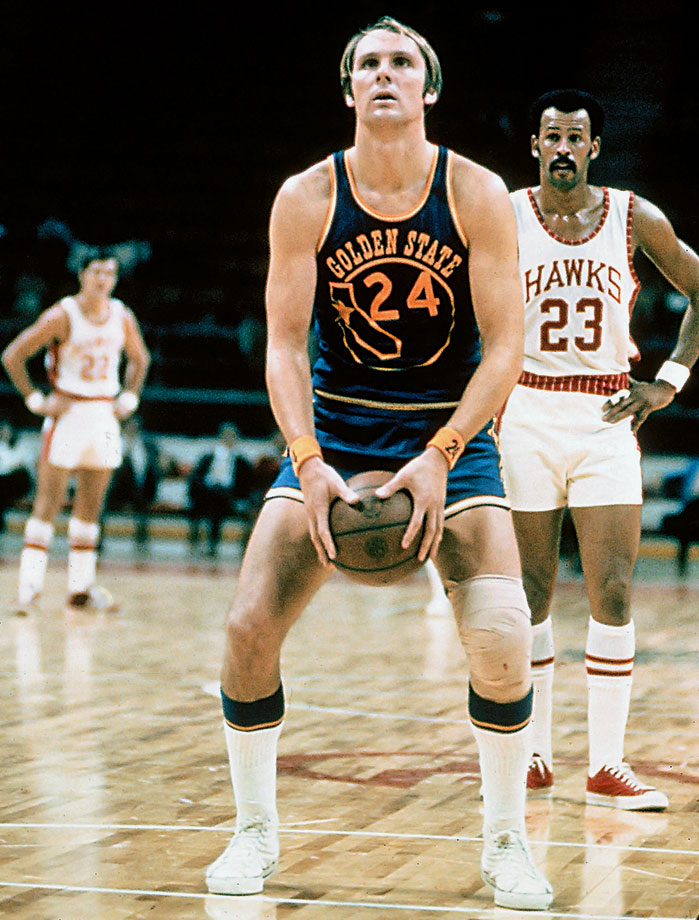 Beyond pioneering the granny-style free throw, Barry was one of the league's most dominant scorers of all-time, an eight-time All-Star and the 1975 Finals MVP. He spent four seasons from 1968-1972 playing in the ABA (over which he averaged 30.5 points), which places a hit on his all-time totals, but he retired with NBA averages of 23.2 points, 6.5 rebounds and 5.1 assists (and 90% from the foul line). — Runners-up: Bobby Jones, Sam Jones