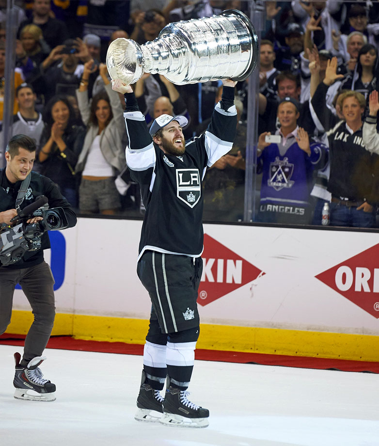 Through the first decade of his career, his list of accomplishments is impressive: a Memorial Cup, a World Junior gold medal, a Calder Cup, an Olympic gold medal and two Stanley Cups. His role has shrunk some — he played on the fourth line during the Kings' Stanley Cup triumph over the Rangers in 2014 — but Richards is still revered for his on- and off-ice leadership. — Honorable Mention: Sean Burke (Devils, 1985); Daniel Briere (Coyotes, 1995)