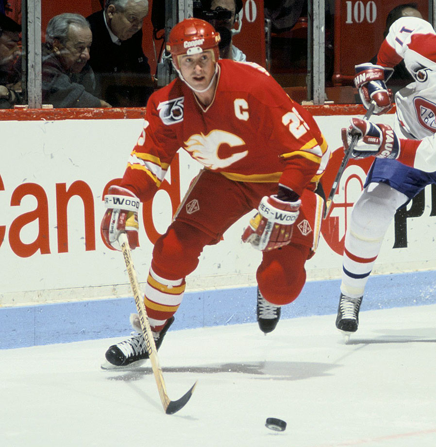He scored 564 career goals and was an integral part of Stanley Cup championships with three different franchises (Calgary, Dallas, New Jersey).