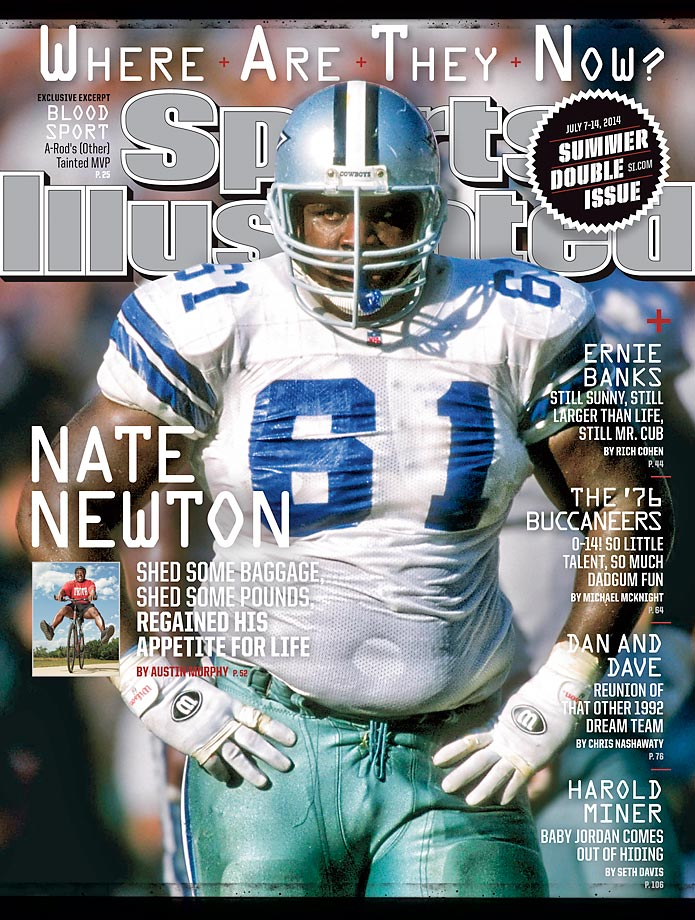 "July 7-14 | Part of the ""Great Wall of Dallas,"" Nate Newton and his fellow Dallas Cowboys linemen helped running back Emmitt Smith win four rushing titles."