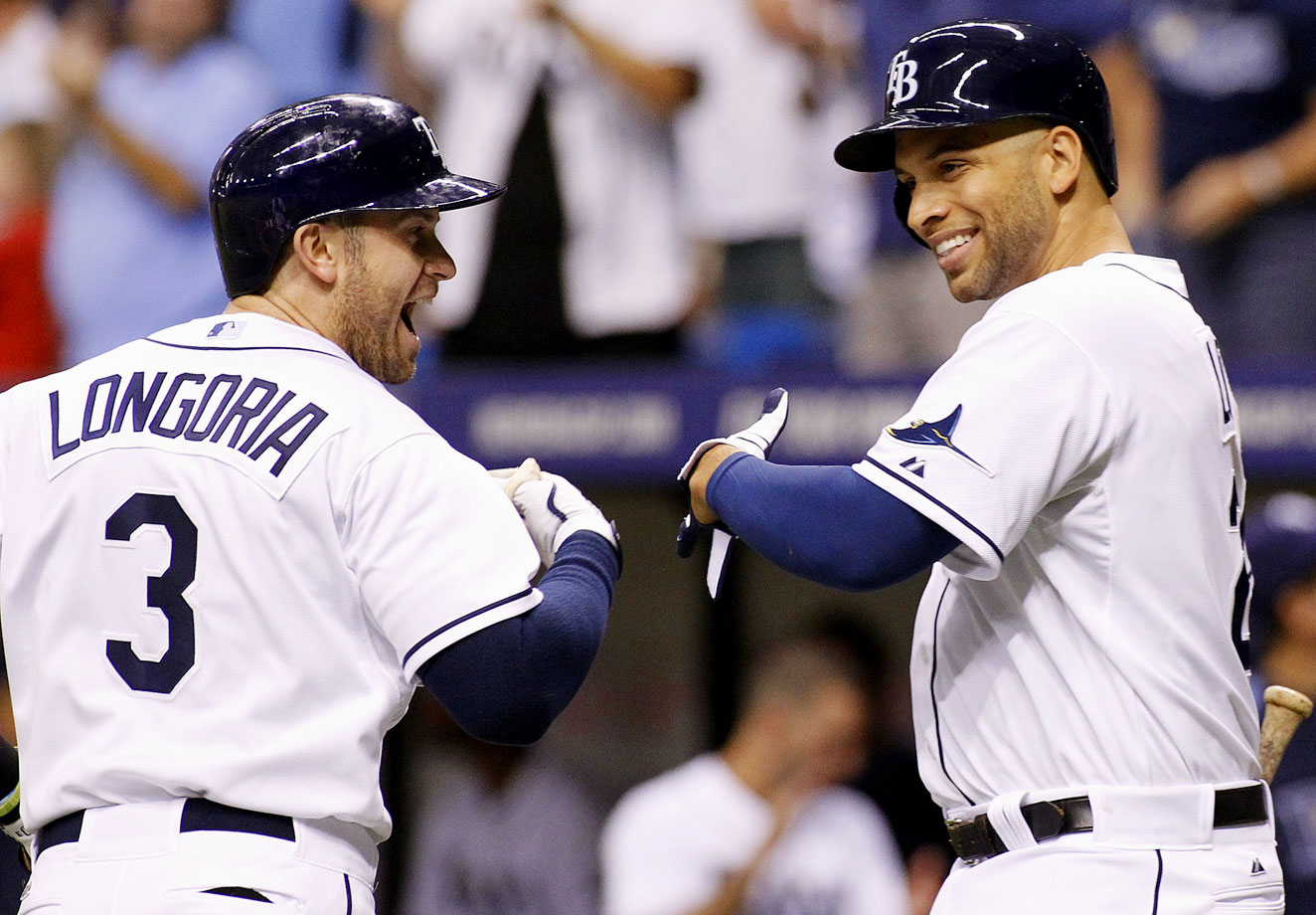Highest salaries: Evan Longoria ($11,000,000), James Loney ($8,666,667)