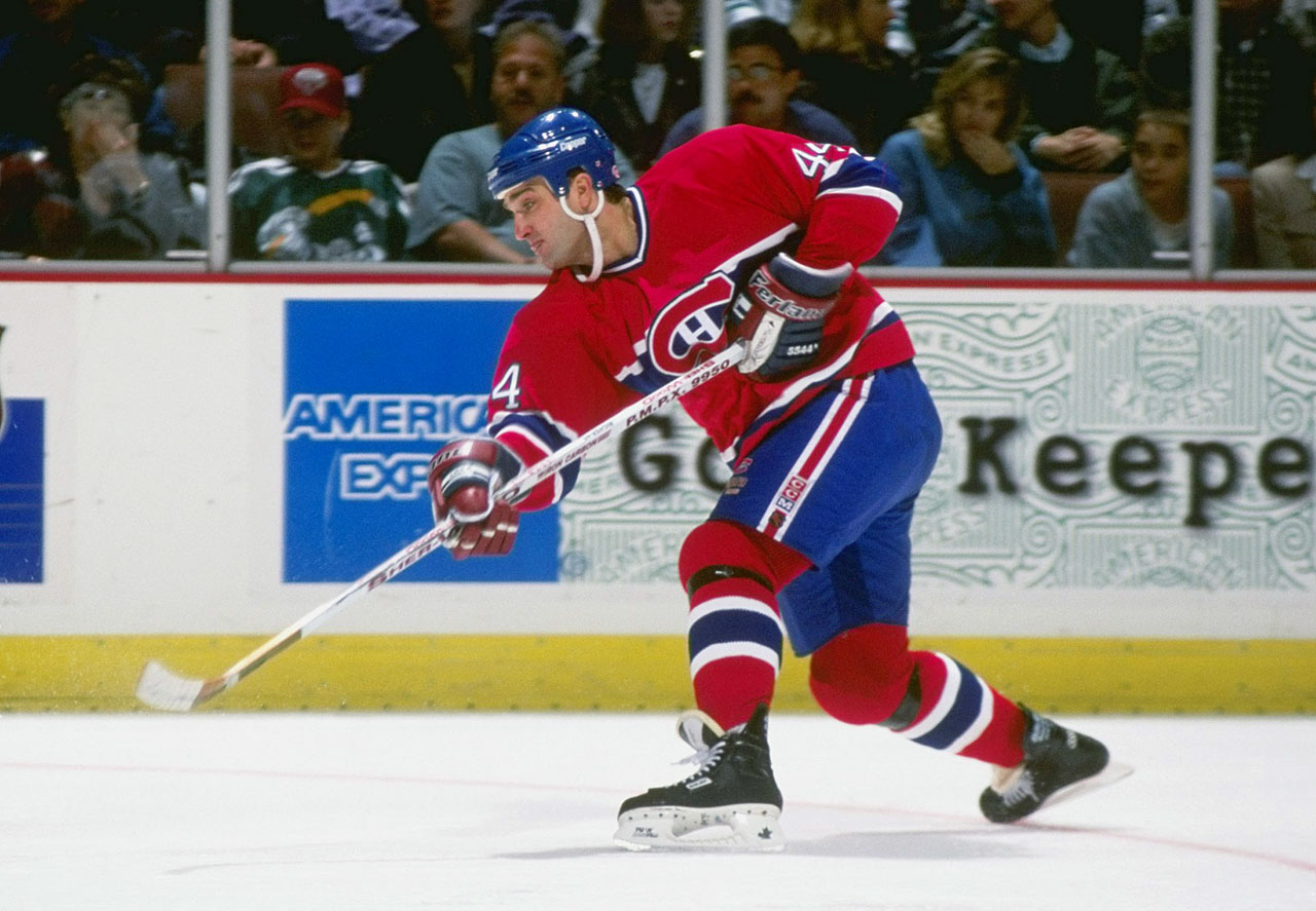 The last of the true Flying Frenchman — and the last Montreal player to score 50 goals in a season — Richer might be the least heralded 400-plus goal scorer in NHL history. He was built like a power forward but played more like a waterbug,using speed and a wicked half-slapper to help both the Canadiens (1986) and the Devils ('95) to Stanley Cup championships. — Honorable mentions: Danny Gare (Sabres, 1974); Teppo Numminen (Jets, 1986)