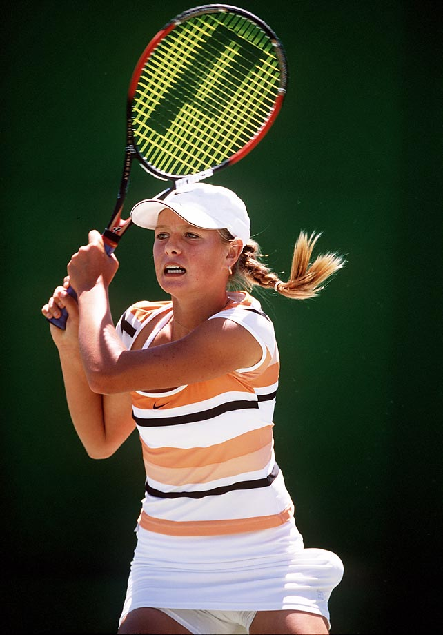 Six months before her first career championship at Wimbledon, Sharapova takes on the competition at the Australian Open.