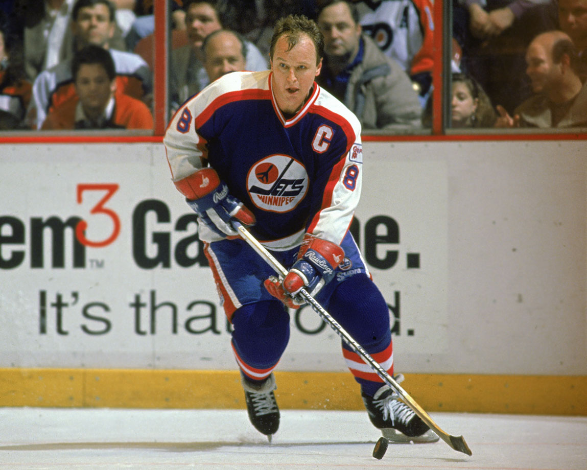 Toronto fans may debate his value as a coach, but not as a player. Carlyle was a master of possession, a puck-moving defenseman with a hard edge who played more than 1,000 games over 17 seasons with the Leafs, the Penguins and the Jets. He scored a career-high 83 points for Pittsburgh in 1980-81, and won the Norris Trophy. — Honorable mentions: Sandis Ozolinsh (Sharks, 1991); Patrice Brisebois (Canadiens, 1989)