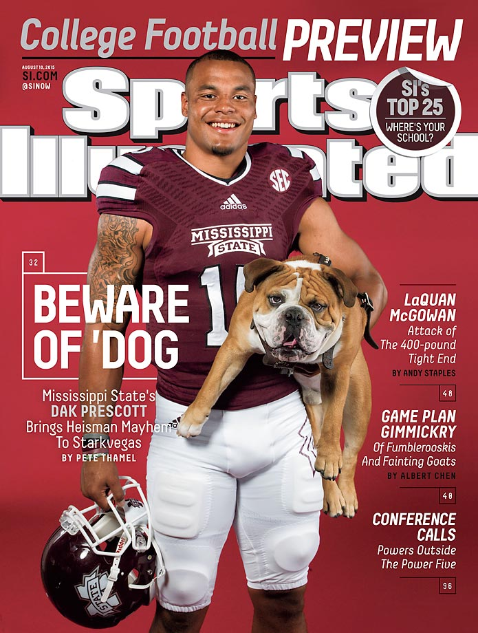 August 10, 2015 | Dak Prescott electrified Starkville last season as Mississippi State unexpectedly attained a No. 1 ranking, but the Bulldogs have the pressure of expectations this season.