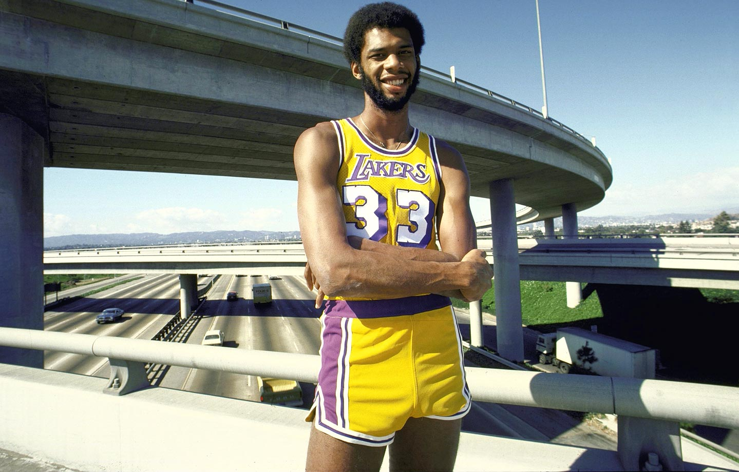 Clearly one of the greatest players ever, Abdul-Jabbar is the NBA's all-time leading scorer by a mile and played in the second-most games of any player in history behind only Robert Parish. Kareem was an All-Star in 19 of his 20 seasons and claimed six championships. His skyhook will, of course, forever be legendary. — Runners-up: Larry Bird, Scottie Pippen