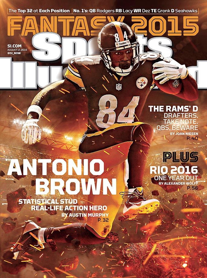 August 17, 2015 | Austin Murphy profiles Antonio Brown, the undersized and underexposed wideout who, over the last two years, has been perhaps the NFL's most productive wide receiver.
