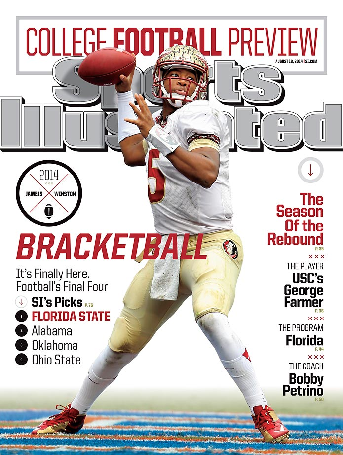 August 18, 2014 | Heisman Trophy winner Jameis Winston seeks to become the first back-to-back winner in almost 40 years.  The Seminoles are also big favorites to repeat as national champions.
