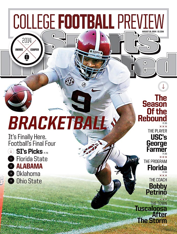 August 18, 2014 | Alabama wide receiver Amari Cooper hopes to bounce back from a disappointing 2013 season, by leading the Crimson Tide back to the title game.