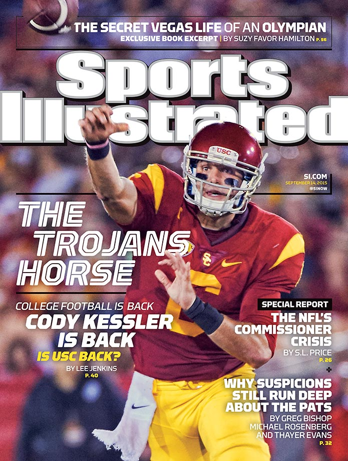 September 14, 2015 | Cody Kessler of USC is on a regional cover this week.