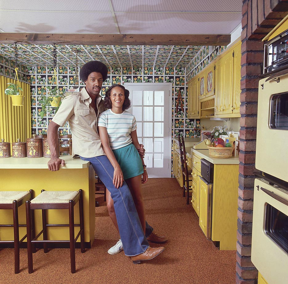 Julius Erving and then-wife Turquoise pose happily from inside of their Babylon, N.Y., home, which looks pretty much identical to your grandmother's, give or take a few Precious Moments figurines. Taken in 1978, Dr. J would later go on to lead the 76ers to an NBA championship.
