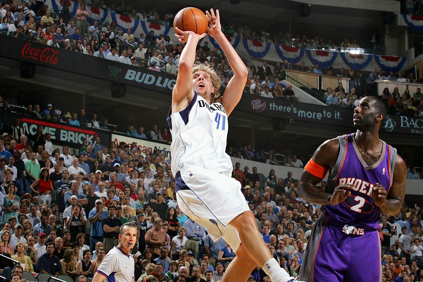 Arguably the greatest shooting big man of all-time, Nowitzki cemented his legacy after leading the Mavericks to a come-from-behind championship against the Heat in 2011. Nowitzki claimed the 2006 regular season MVP and has appeared in 13 All-Star Games. — Runners-up: Wes Unseld, Glen Rice