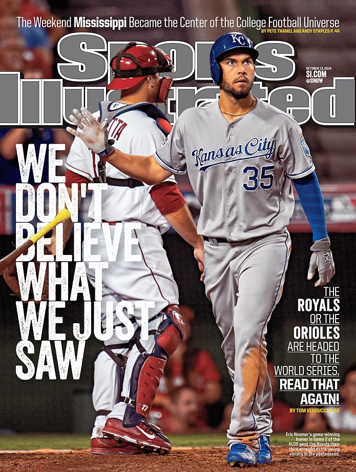 October 13, 2014 | Lacking power, but plenty of speed, the Kansas City Royals are four victories from their first World Series appearance  since 1985.