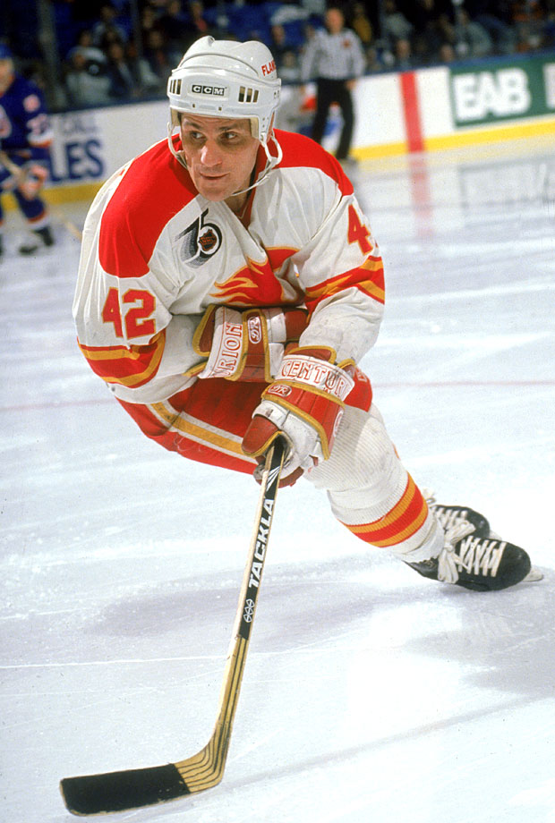 Makarov made 42 his own after the 24 he wore with the Red Army was unavailable when he joined the Flames in 1989. He won the Calder Trophy that season, as a 32-year-old NHL rookie.