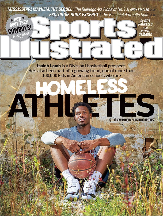 October 20, 2014 | There are thousands of homeless athletes around the United States and an SI investigation found that most of them thrive and survive with the help of sports.