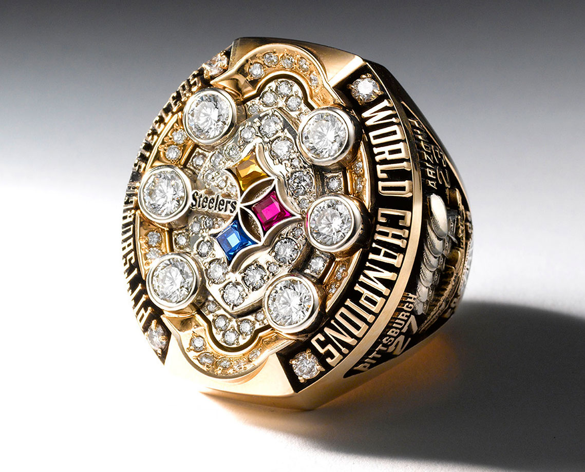 the pin largest honoring victory view in of bowl patriots ring nfl super first photos history rings