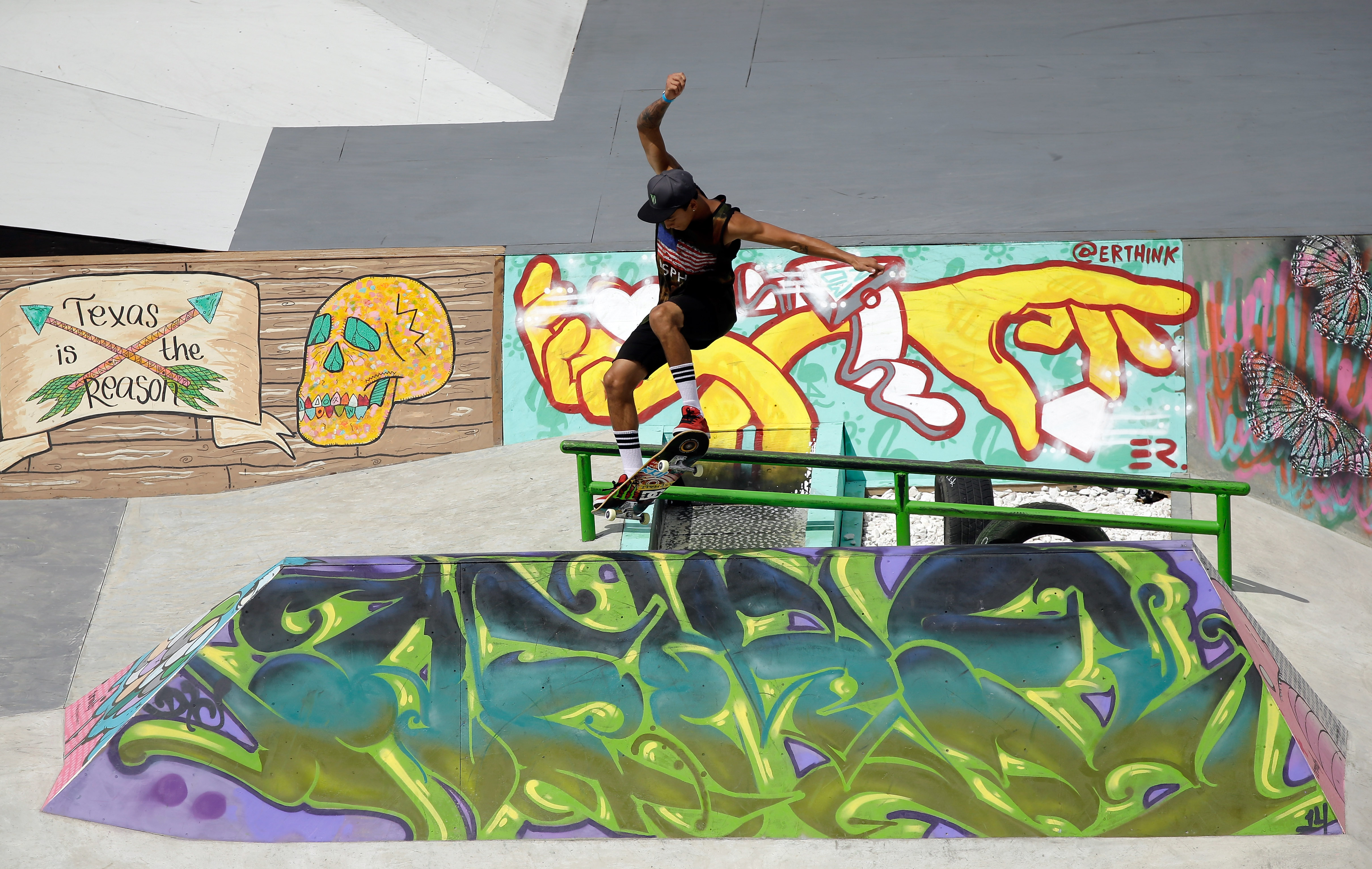Nyjah Huston won his sixth X Games gold medal last month in Austin, Texas.