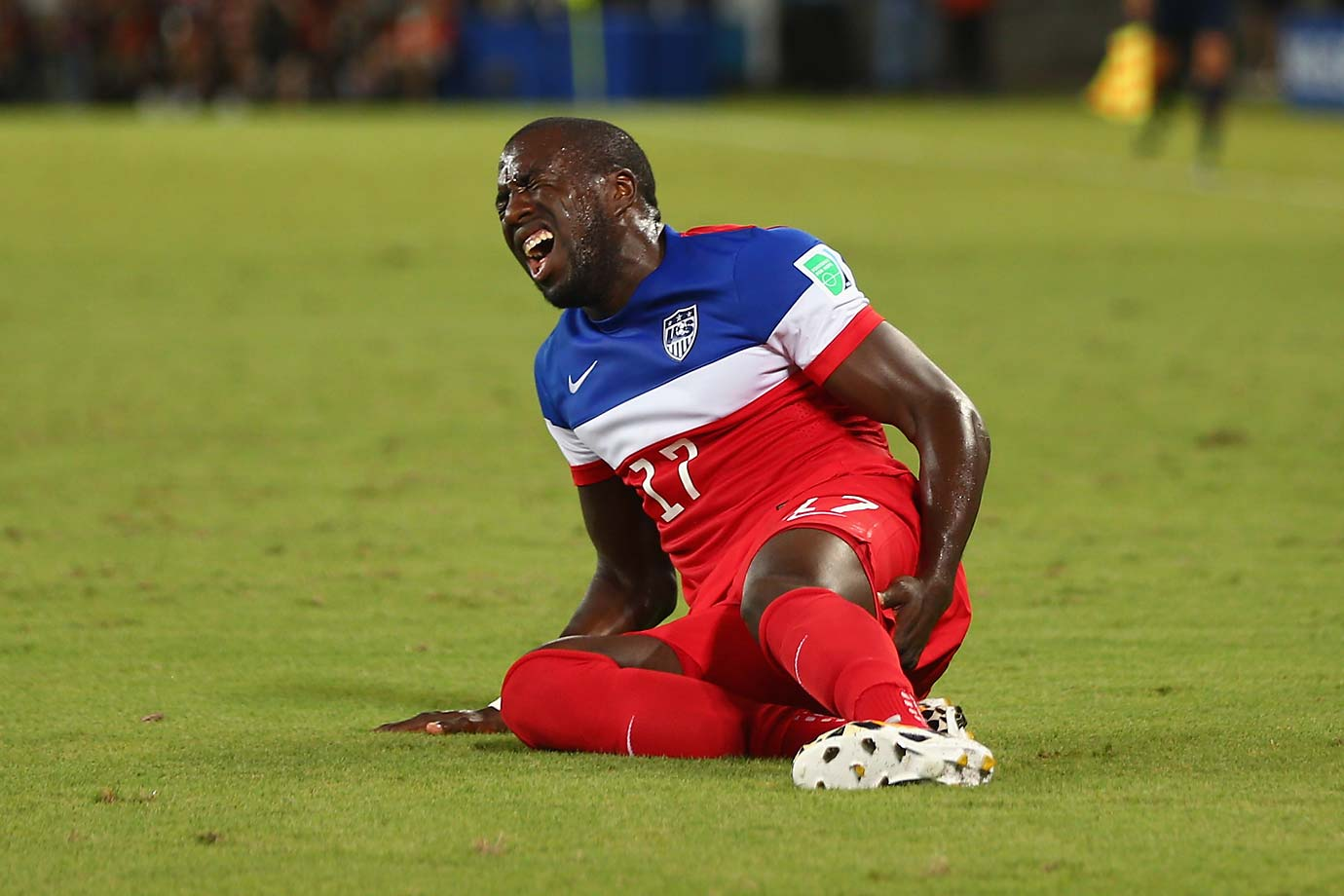 If he's unable to continue, the U.S. won't be able to replace him on the roster.