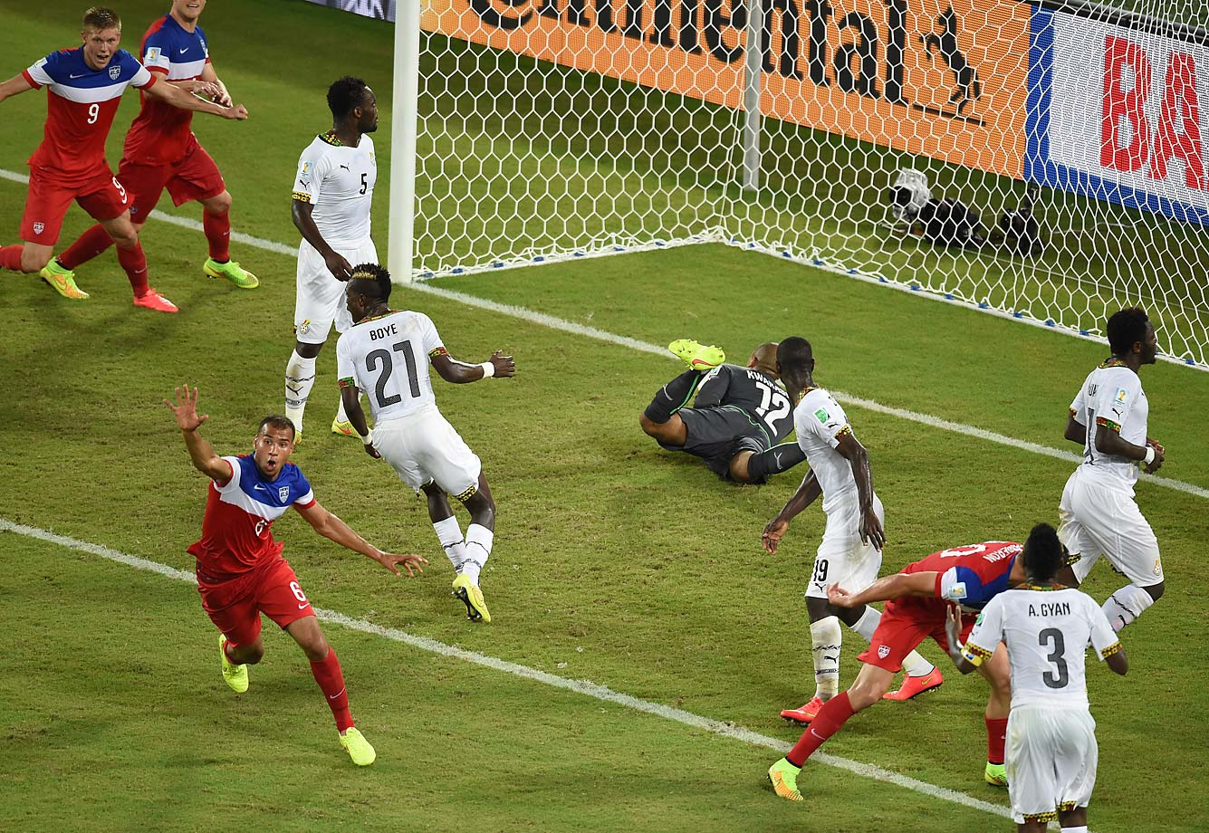 John Brooks game winner on a header in the 86th minute of a 2-1 victory over Ghana will go down as one of the most memorable in U.S. World Cup history. It enabled the U.S. to defeat the team that had knocked it out of the previous two World Cups.
