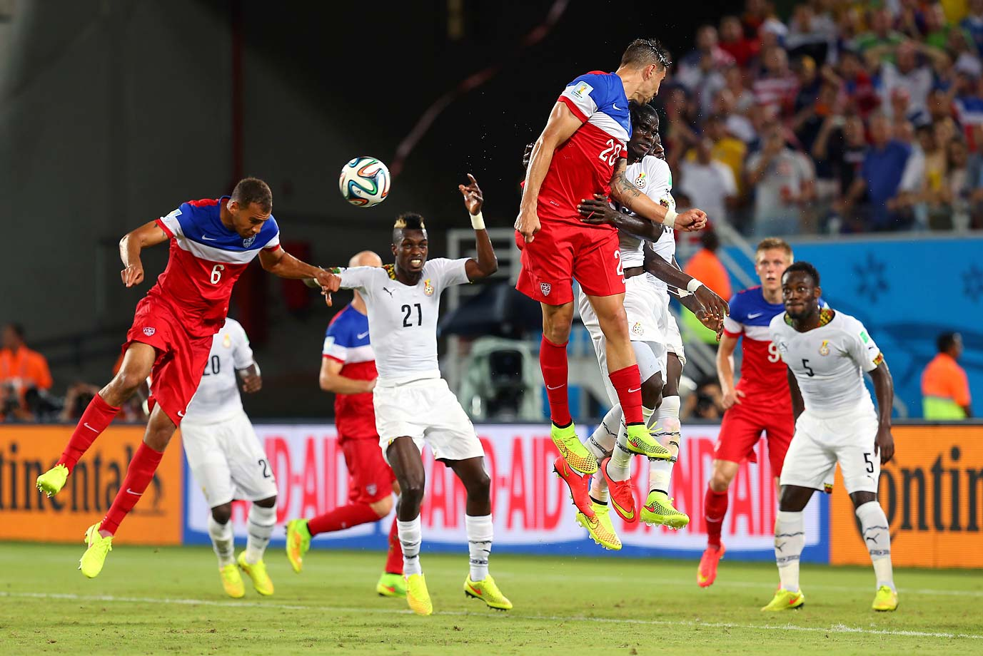 The goal was the first by a U.S. substitute player in the history of the World Cup. It came in the waning minutes as the U.S. was desperately trying to survive waves of attacks from Ghana.