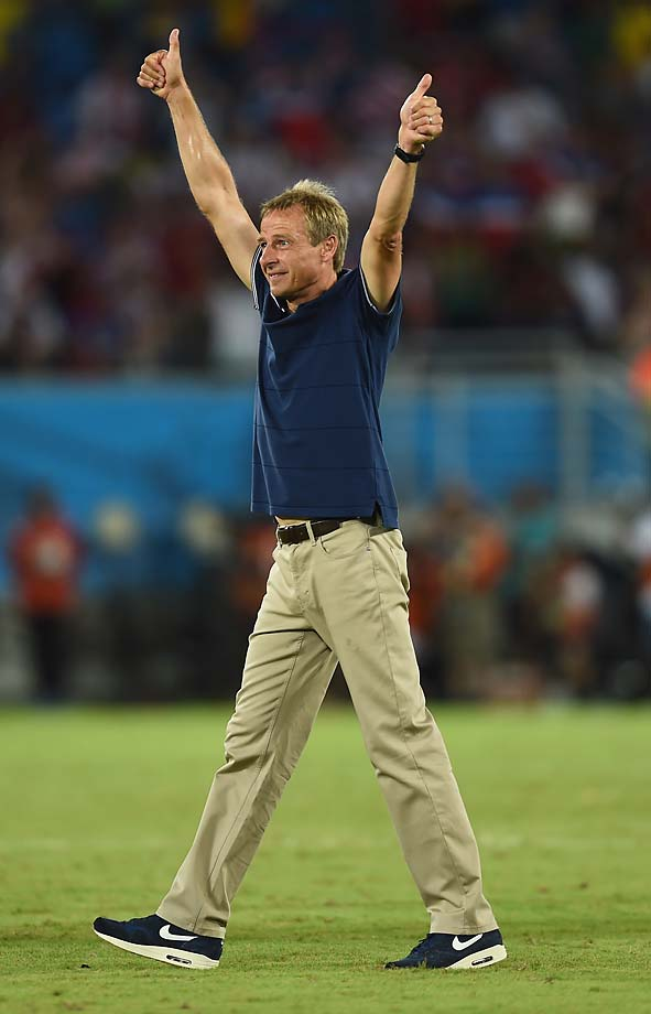 Jurgen Klinsmann did something his two predecessors couldn't -- defeat Ghana in a World Cup match.