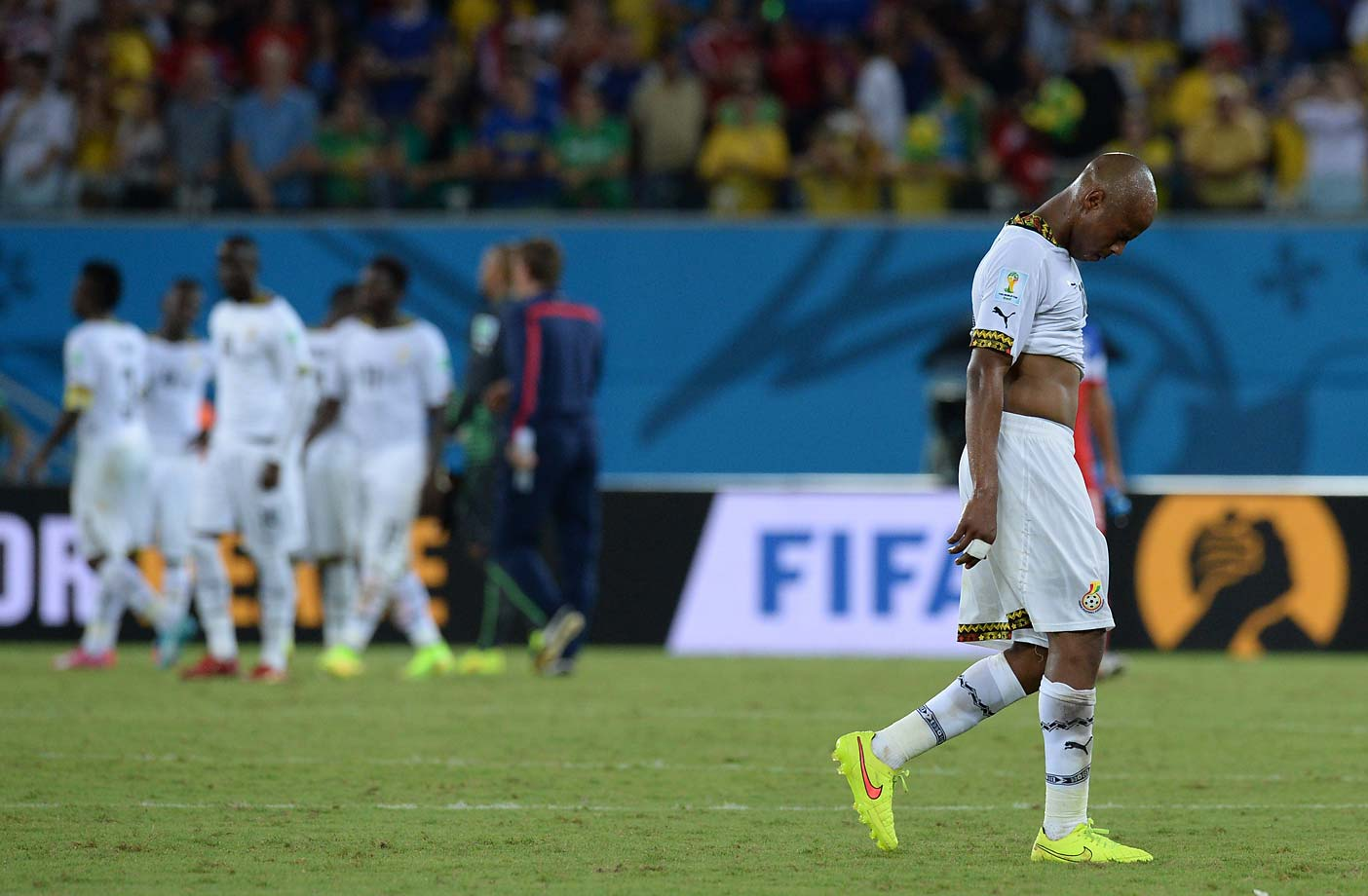 Ghana has its work cut out for it, having to face Germany on the heels of Monday's defeat.