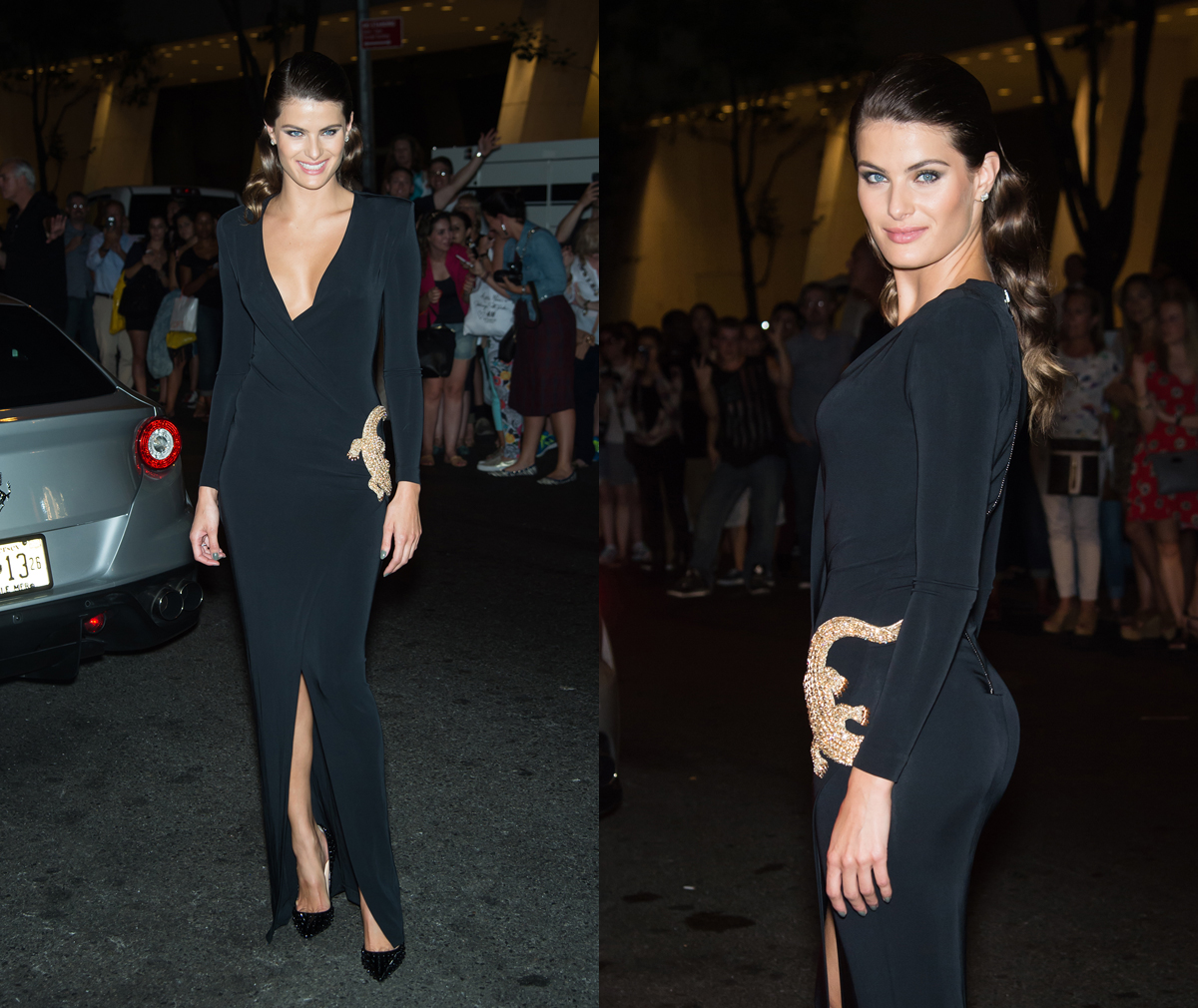 Isabeli Fontana at Harper's Bazaar Icons Party