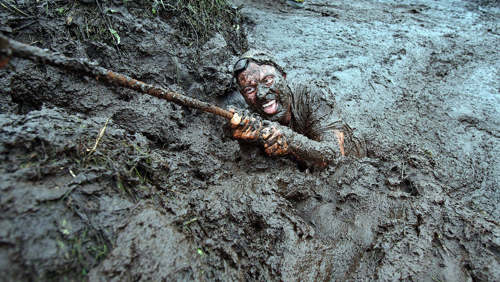 The Mud Madness race, at Foymore Lodge in Portadown.