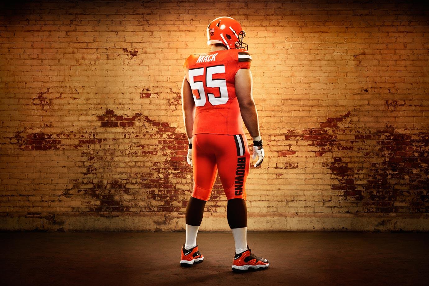 alex mack browns jersey