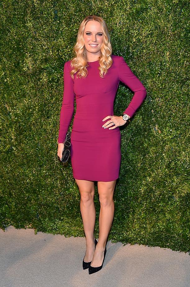 Caroline Wozniacki :: Theo Wargo/Getty Images
