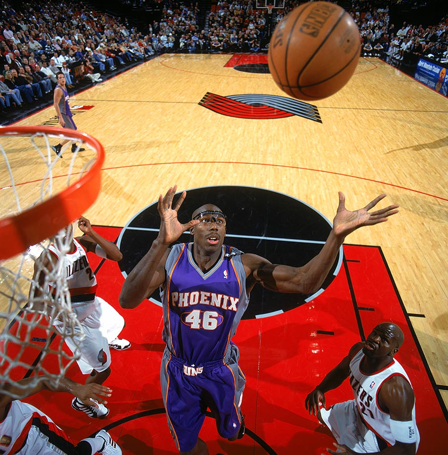 "A terrific athlete, tough defender and abysmal free-throw shooter, Outlaw carved out a long career for himself despite an uninspiring statistical profile. His game peaked in 1998, with 25 points, 13 rebounds and 10 assists in a win as a member of the Magic. A reporter asked him how he felt about his triple-double, which led to Outlaw's famous reply: ""What's that? Some kind of hamburger?"""