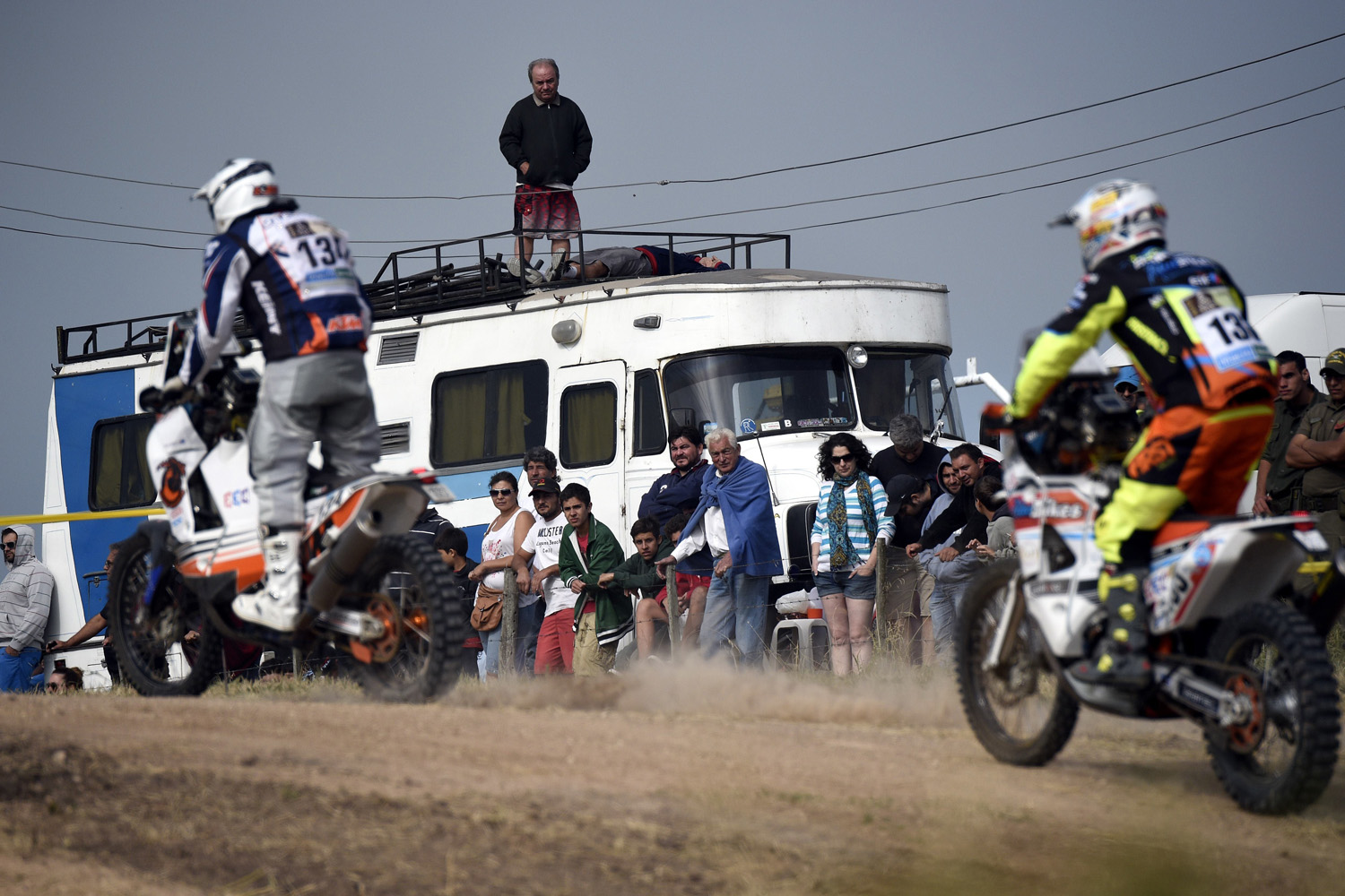 The Dakar Rally, being held in Argentina, Chile and Bolivia, starts and ends in Buenos Aires after 13 stages and nearly 6,000 miles. Cars, trucks, quads and motorbikes are permitted in the race, offering a unique style of competition that hinges more on endurance and preparation than anything else.