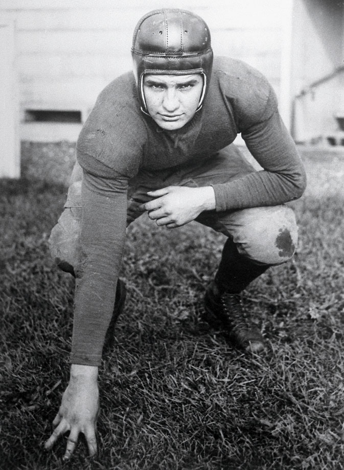 The ultimate Michigan man (he also lettered in baseball and later coached the team to a national title) was an All-America end three times and led the Big Ten in scoring in 1925 with eight touchdowns. — Runner-up: Michael Irvin, WR, Miami (1985-87)