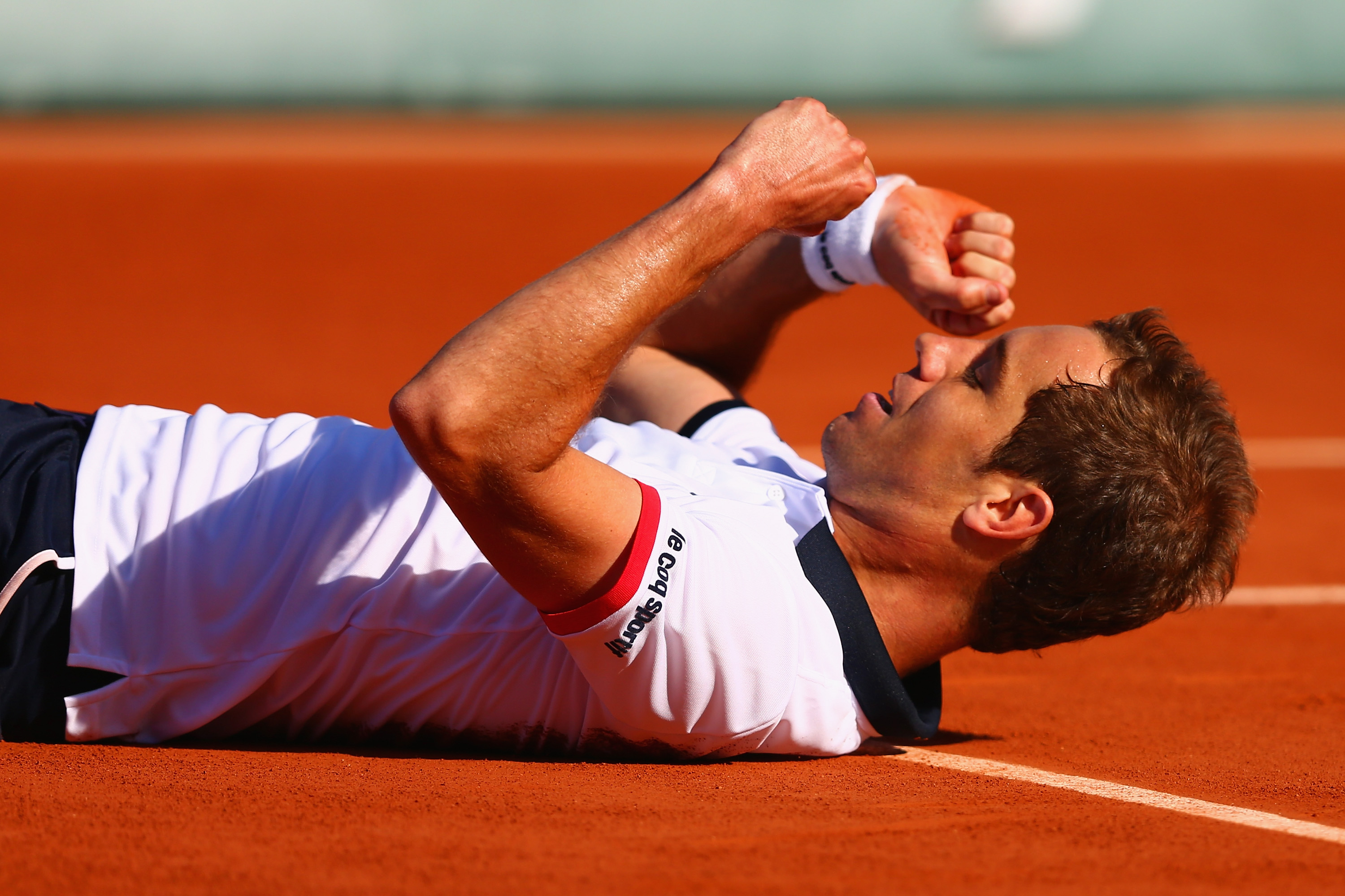 Gasquet d. Kevin Anderson 4–6, 7–6 (4), 7–5, 6–4.