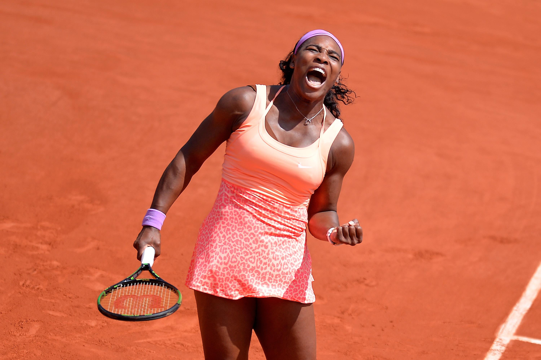 Serena d. Errani 6–1, 6–3.