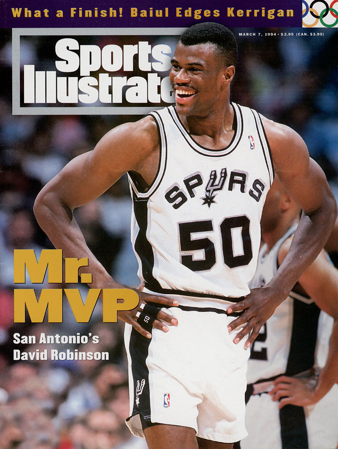 The Admiral was an incredible talent whose individual greatness occasionally gets lost because of the team-first nature of the Spurs' dynasty and Tim Duncan's sustained quality. Robinson was part of the Spurs' first two championships (1999 and 2003), teaming with Tim Duncan to lay the groundwork for what was to come. But a young Robinson could carry a team, make no mistake about it: he averaged 29.8 points and 10.7 rebounds in 1994 and averaged 21.1 points for his career. — Runners-up: Steve Mix, Ralph Sampson, Zach Randolph