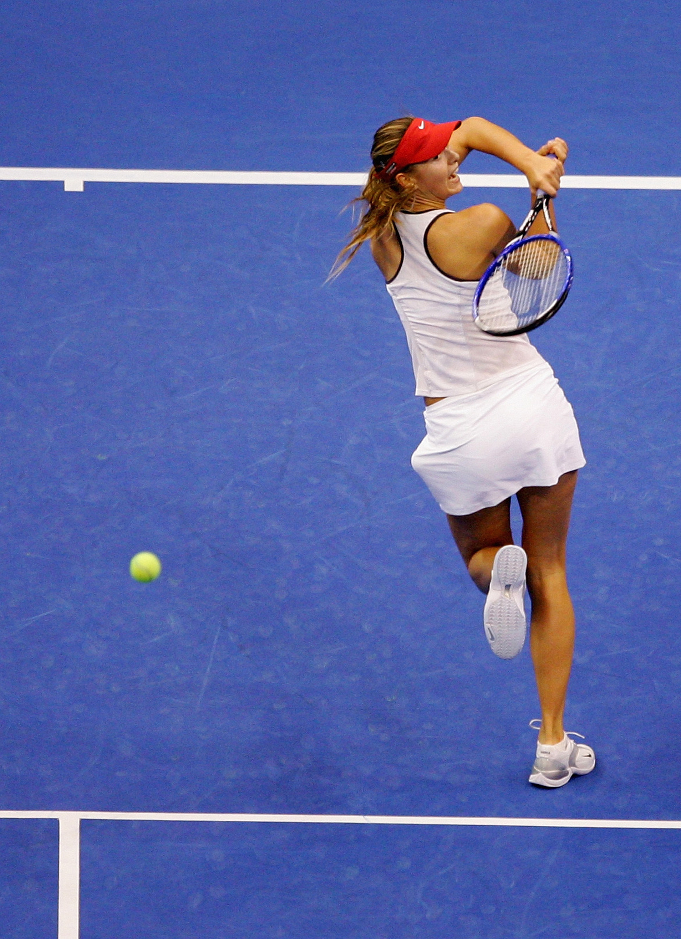 17-year-old Maria Sharapova made her debut after winning Wimbledon that year.
