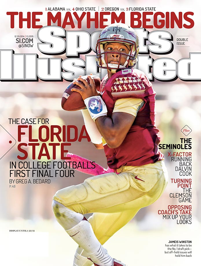December 29, 2014 |  Florida State, winners of 29 straight games, are led last year's Heisman winner Jameis Winston and a resiliency unmatched in college football.