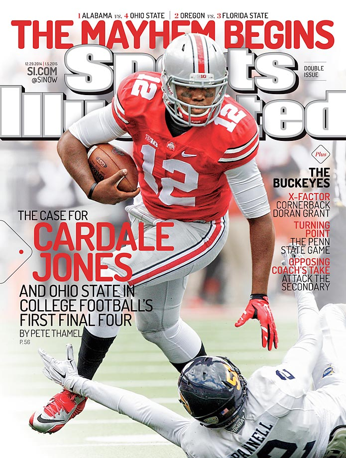 December 29, 2014 | The Buckeyes are down to their third-string quarterback for coach Urban Meyer, who is two victories away from claiming his third national title.                                                                       *This is a double issue: Dec. 29, 2014 0 Jan. 5, 2015.